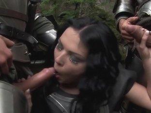 Best pornstar Amber Rayne in incredible creampie, dp porn clip