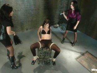 Crazy fetish, ebony porn movie with hottest pornstars Leyla Black, Isis Love and January Seraph fr.