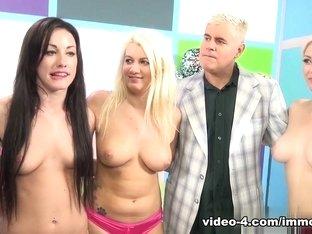 Hottest pornstars Scott Lyons, Cali Carter in Crazy Cumshots, Blowjob adult video