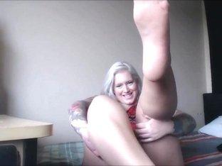 Chubby fat blondie white pantyhose