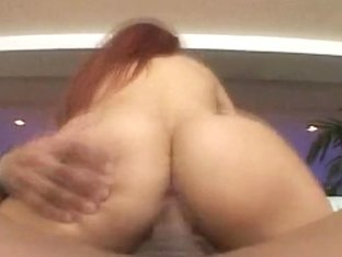 Red headed 19 year old Misty gets fucked and sucks cock