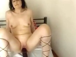 Wife with heavy sextoy pt1