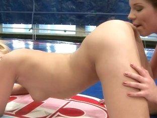 Angel Rivas doing a hard ass hole fingering