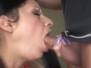 Breasty Lalin Girl Foxy Anya Sucks Wang Acquires Cum Facial