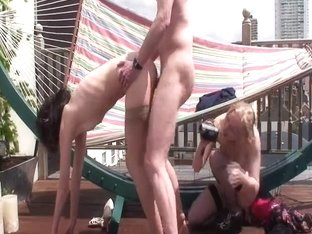 Rooftop enjoyment with two hookers (OH4P)