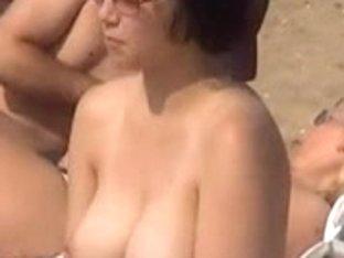 Topless Legal Age Teenager Eurobeach