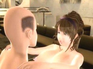 3D Ugly Man Fucks Busty Teen!