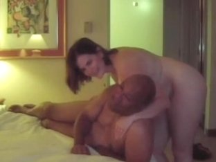 Chubby amateur fucked by black dude