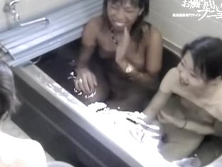 Hidden bathroom cam video of two young Asians naked dvd 03222