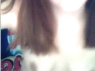 Sexy girl showing hot body on webcam - negrofloripa