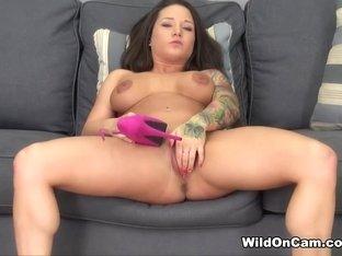 Crazy pornstar Charity Bangs in Fabulous Big Tits, Masturbation sex clip