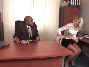 Horny pornstar in best blonde, lingerie porn scene