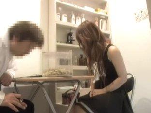 Big booty Japanese crammed hard in medical fetish clip