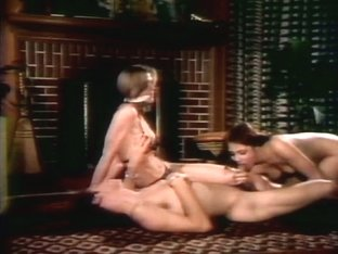Hottest facial retro video with Monique Cardin and Anthony Spinelli