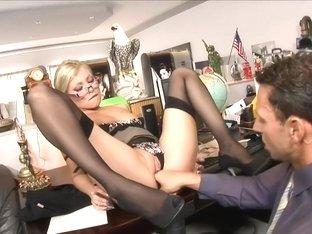 Hot Russian Secretary Donna Bell Tight Ass