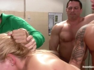 Sexy Romanian Gymnast Overpowered by Cock