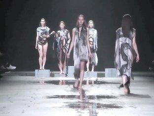 Fashionshow Full Naked Show Jef Montes in Fashionweek MB Amsterdam