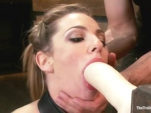 Training a Slut Girl to Fuck Better, Day One