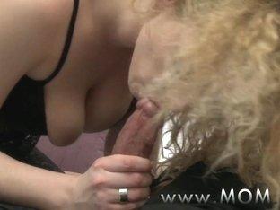 MOM Mature mistress fucking her lover