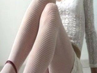 White fishnet