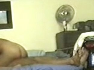 Hidden web camera in basement records their lovemaking