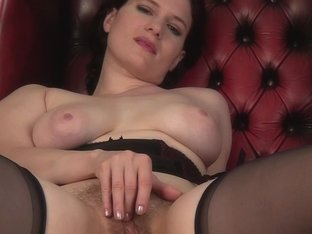 Brianna Green in Heels And Stockings Scene