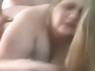 Cuckold captures his dirty talking moaning bbw fuck a stranger