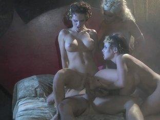 Bridgette B. & Jennifer Dark & Brandy Aniston in This Ain't Dracula XXX