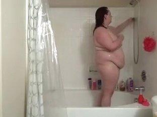 large appealing mother Enema & Shower Part 1