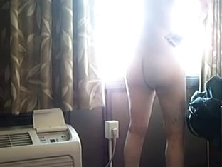 Flashing motel window