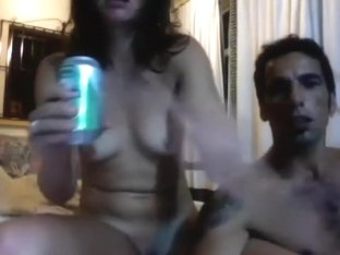 My sexy mother i'd like to fuck darksome brown girlfriend in my bedroom on livecam