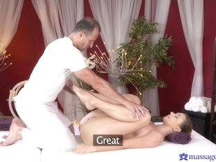 Hottest pornstars George, Ani Black Fox in Crazy Big Ass, Massage porn scene