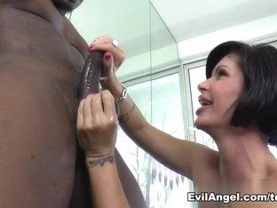 Incredible pornstar Kleio Valentien in Best Interracial, Cumshots xxx video