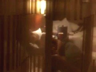 Hotel Window - Jerk Off Spying