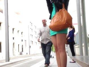 high legs mini skirt