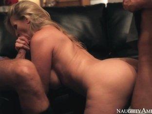 Julia Ann & Bill Bailey & Rocco Reed in Naughty America