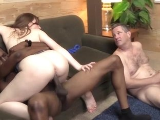 Scarlett Fay Fucks Her First BBC To Please Her Hubby