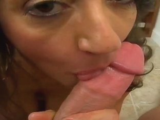Oral attack of the big titted milf Persia