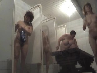 Guy with shower spy cam cant stop shooting fat fem