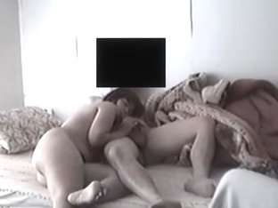 Hidden sex mature mom blowing dad on spy secret camera installed in the room