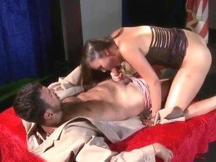 Hot chick Allie Haze fucks with her best friend