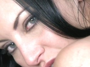 Love Creampie: Sexy young babe with hard nipples slowly pumped full of cum
