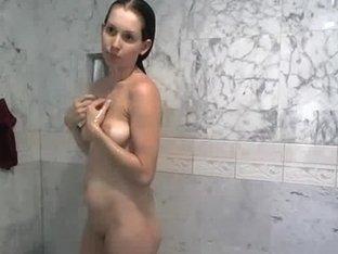 WEBCAM Sybian Riding Shower Shaving