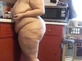 Big Beautiful Woman MsGeekygirl87 Kitchen Fetish Maturbation