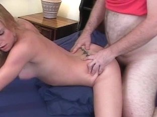Video from Mytinydick: Blonde horndog gets nailed