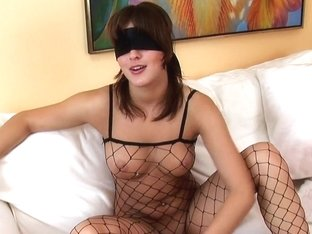 Lillike Shows Off Her Nice Big Boobs
