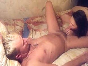 Dude makes his GF deep throat