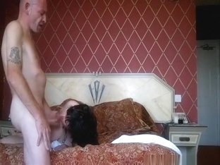 Mature couple homemade sextape in the bedroom