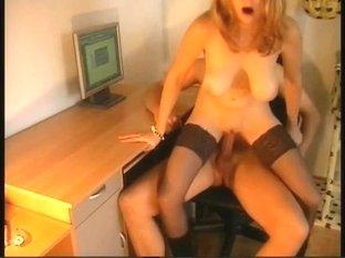 My secretary fucks me in the office