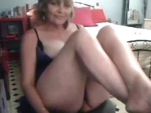 My kinky hot mum having fun on web cam. Stolen video
